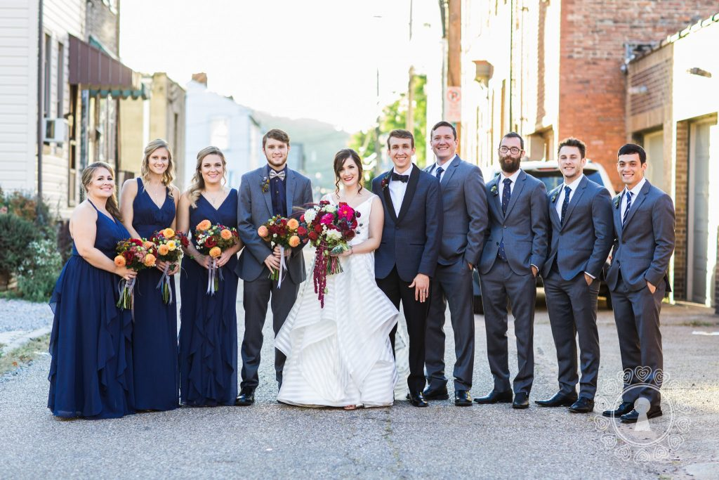 South-Side-Alley-Bridal-Party-Portraits