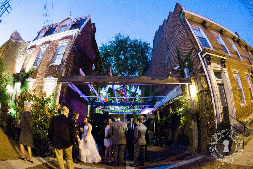 Morning-Glory-Inn-Intimate-Wedding-Reception-Night