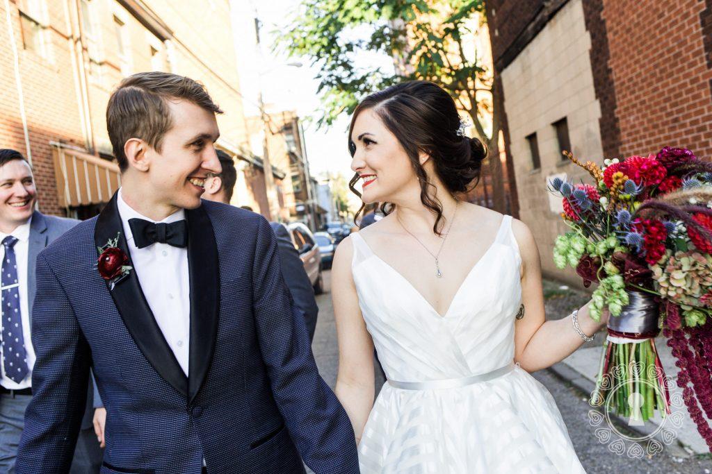 Emily & Kyle | Bold and Vibrant Morning Glory Inn Wedding-0
